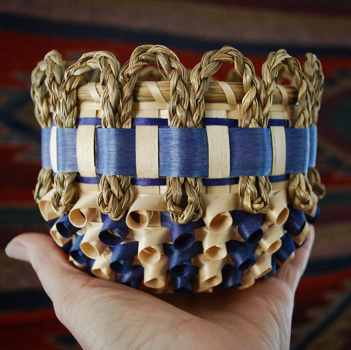 Passamaquoddy basket